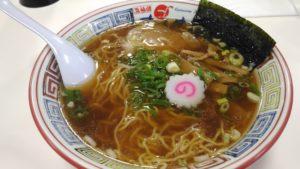 かもめラーメン(醤油味)