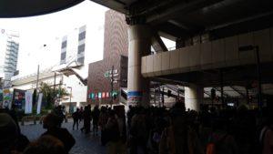 新しくなった千葉駅