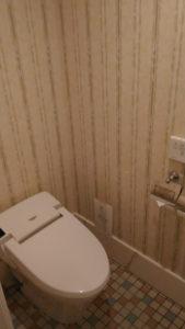 ディズニーランドホテルのトイレ