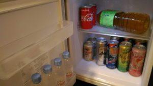 ディズニーランドホテルの冷蔵庫