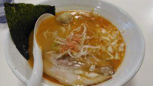 海老鶏白湯そばsio