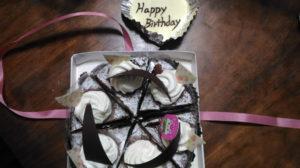 16歳の誕生日ケーキ