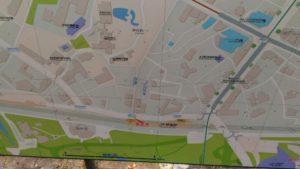 原宿駅周辺の地図