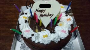 長女12歳誕生日ケーキ