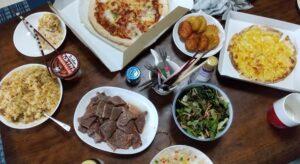 8月14日の夏休みご飯