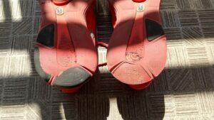 修理前靴底